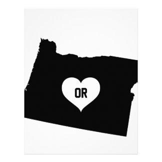 Oregon Love Letterhead