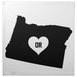 Oregon Love Napkin