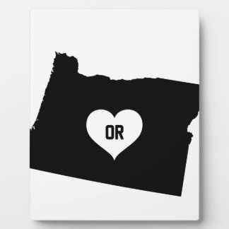 Oregon Love Plaque