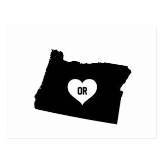 Oregon Love Postcard