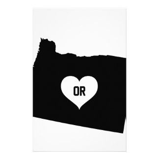 Oregon Love Stationery