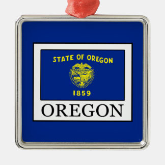 Oregon Metal Ornament