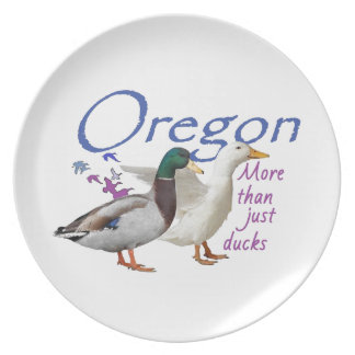 OREGON PARTY PLATE