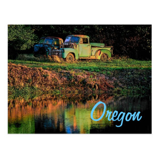 Oregon Pickup Postcard