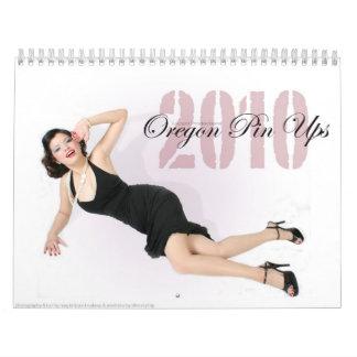 Oregon Pin Ups Wall Calendars