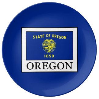 Oregon Porcelain Plate