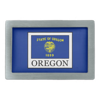 Oregon Rectangular Belt Buckle