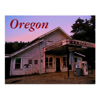 Oregon (Remote) Postcard