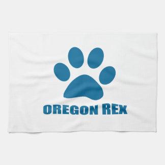 OREGON REX CAT DESIGNS KITCHEN TOWEL