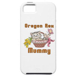Oregon Rex Cat Mom iPhone 5 Cover