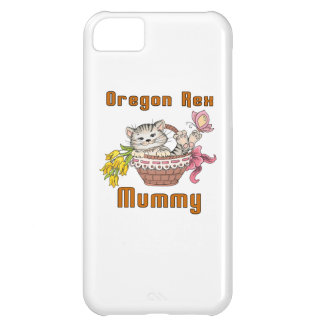 Oregon Rex Cat Mom iPhone 5C Cases