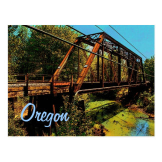 Oregon (RR) Postcard