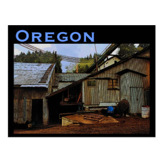 Oregon Sawmill Postcard