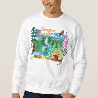 Oregon Scenery and Wildlife Sweatshirt