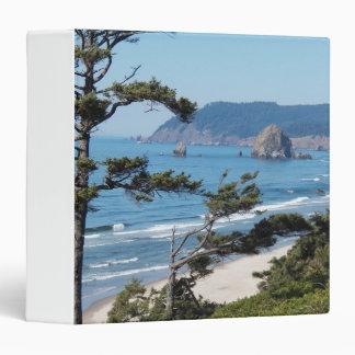 Oregon Seascape Photo 3 Ring Binders