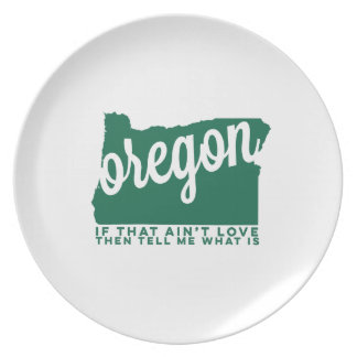 oregon | song lyrics | green plates