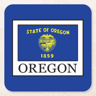 Oregon Square Paper Coaster
