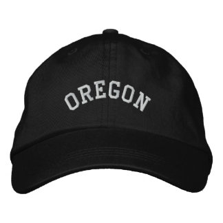 Oregon State Embroidered Embroidered Hat