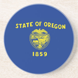 Oregon State Flag Coaster
