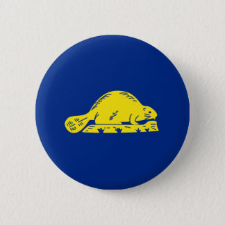 Oregon State Flag (reverse) 2 Inch Round Button