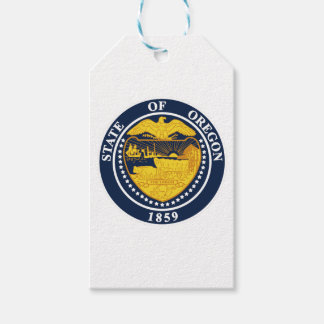 Oregon State Seal Gift Tags
