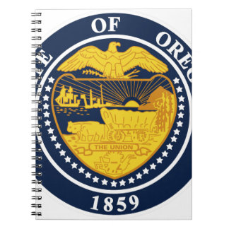 Oregon State Seal Notebook