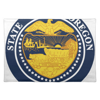 Oregon State Seal Placemat