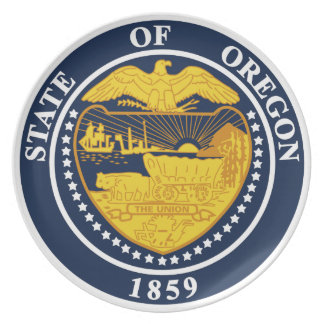 Oregon State Seal Plate