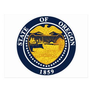 Oregon State Seal Postcard