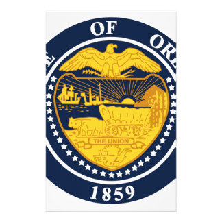 Oregon State Seal Stationery