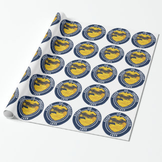 Oregon State Seal Wrapping Paper