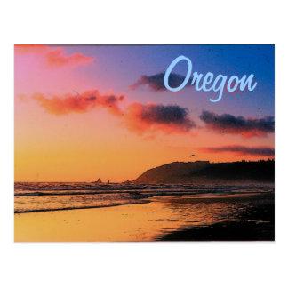 Oregon Sunset Postcard