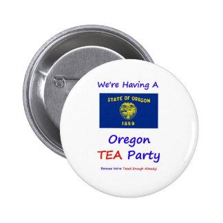 Oregon TEA Party - We re Taxed Enough Already Pins