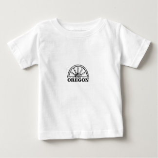 oregon trail simple wheel baby T-Shirt