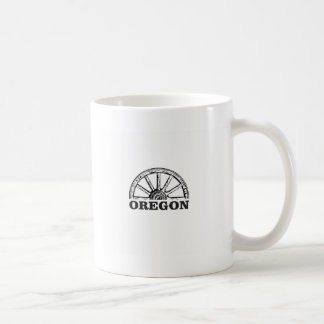 oregon trail simple wheel coffee mug