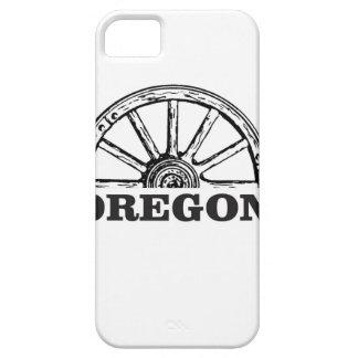 oregon trail simple wheel iPhone 5 case
