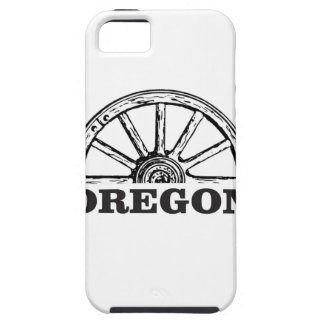 oregon trail simple wheel iPhone 5 covers