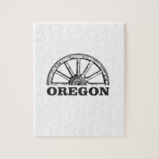 oregon trail simple wheel jigsaw puzzle
