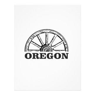 oregon trail simple wheel letterhead
