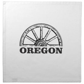 oregon trail simple wheel napkin