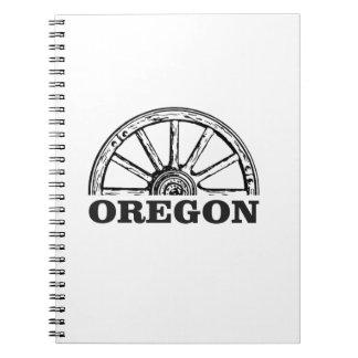 oregon trail simple wheel notebook