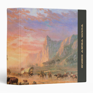 Oregon Trail Vinyl Binders