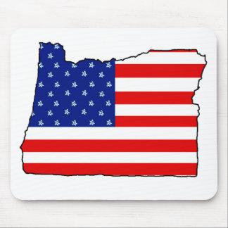 Oregon United States of America Flag Mousepad