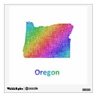 Oregon Wall Sticker