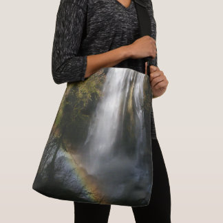 Oregon Waterfall Rainbow Wilderness Tote Bag