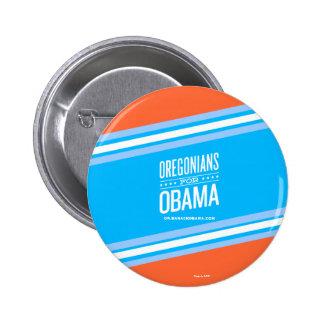 Oregonians for Barack Obama 2 Pinback Button