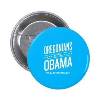Oregonians for Barack Obama Pin