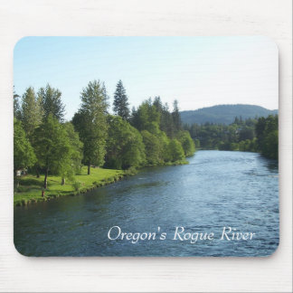 Oregon's Rogue River Mouse Pad