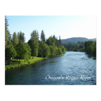 Oregon's Rogue River Postcard