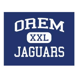 Orem - Jaguars - Junior High School - Orem Utah Postcard